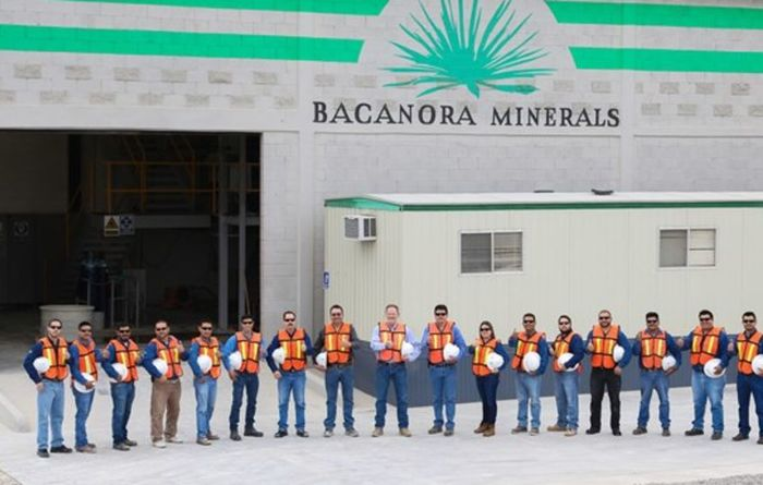 Bacanora's current timeline for plant commissioning is 20 months