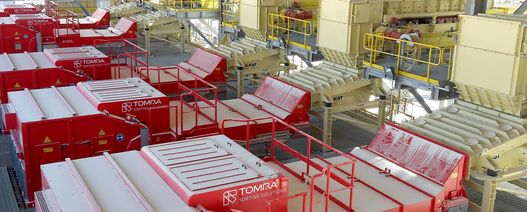 Tomra goes virtual with ore sorting