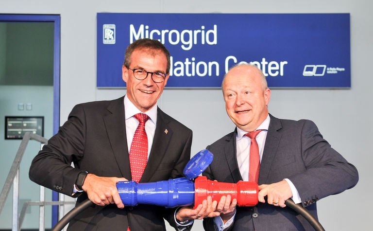Rolls-Royce microgrid centre opened