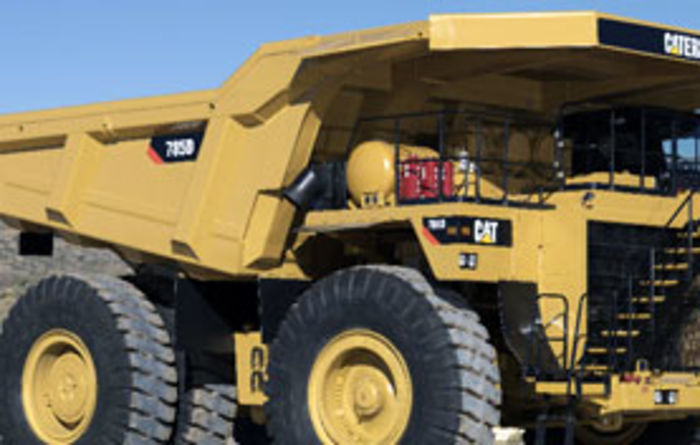 Cat truck deal for Scottish Coal