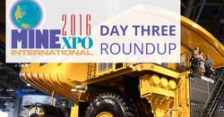 Live from MINExpo 2016: Day 3