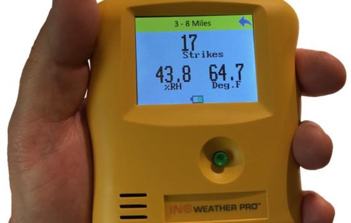 New portable weather station