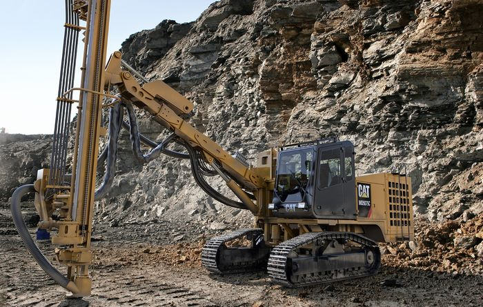 New Cat MD5075C track drill