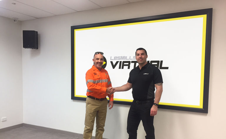 Virtual group fitness studios launch in remote WA mining villages