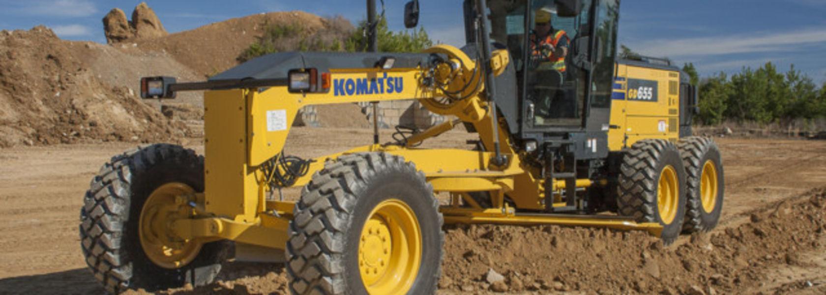 Komatsu introduces GD655-6 motor grader - Mining Magazine