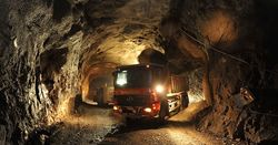 Automated trucks could keep the mine moving during its four hours of daily downtime