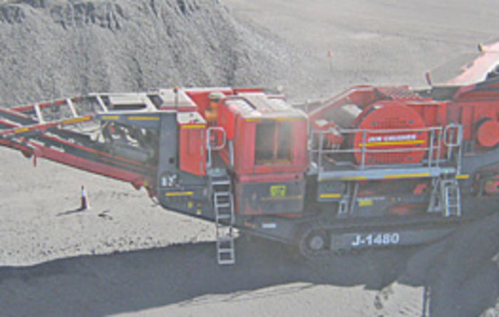 Gecko Mineral Processing purchases Terex Finlay J-1480