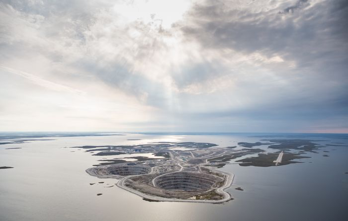 Development of new kimberlite pipe approved at Diavik