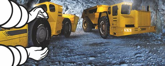 Michelin offers two new underground mining tyres