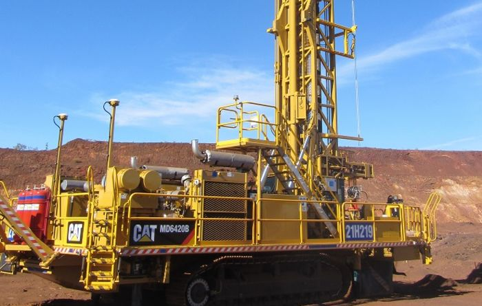 Cat drills set operating records at Ravensworth