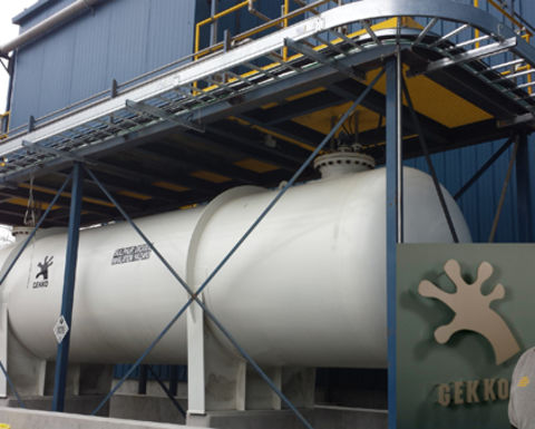 Gekko completes cyanide detox system for Rubicon