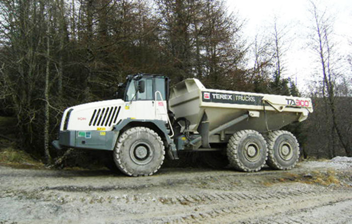 Barhaul invests in new Terex TA300