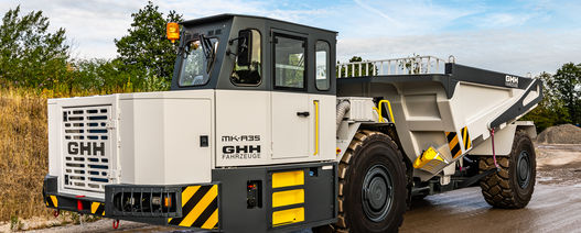 GHH rolls out ultra-clean Stage V dump truck