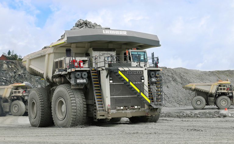 Liebherr enhances ultra-class mining trucks