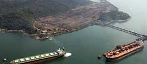 Vale port activities suspended at Mangaratiba