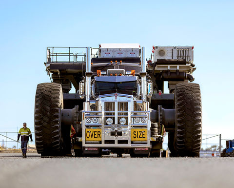 NHH delivers ultra-class Liebherr trucks to Peak Downs
