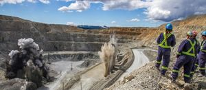 British Columbia mining industry 'upbeat' last year
