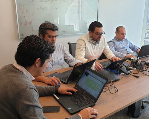 CRC ORE delivers IES workshops in Chile