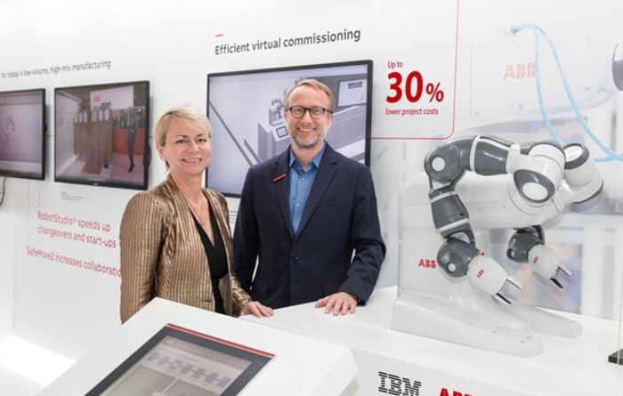 ABB and IBM  team up for industrial AI