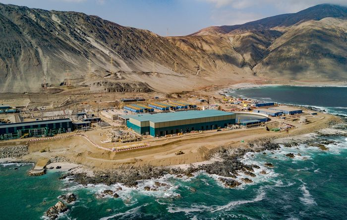 Chile mines cut continental water use