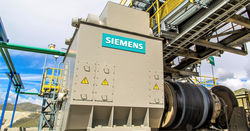 Siemens gearless drive tech for Quellaveco