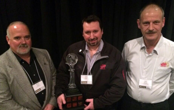Redpath wins safety innovation award