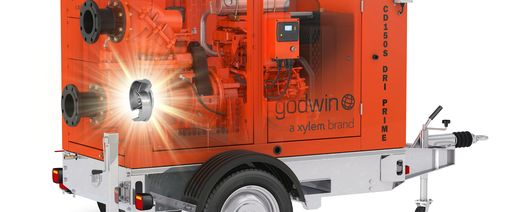 Xylem introduces newest Godwin S Series dewatering pump