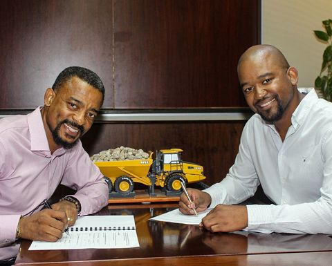 Exxaro and Bell sign agreement