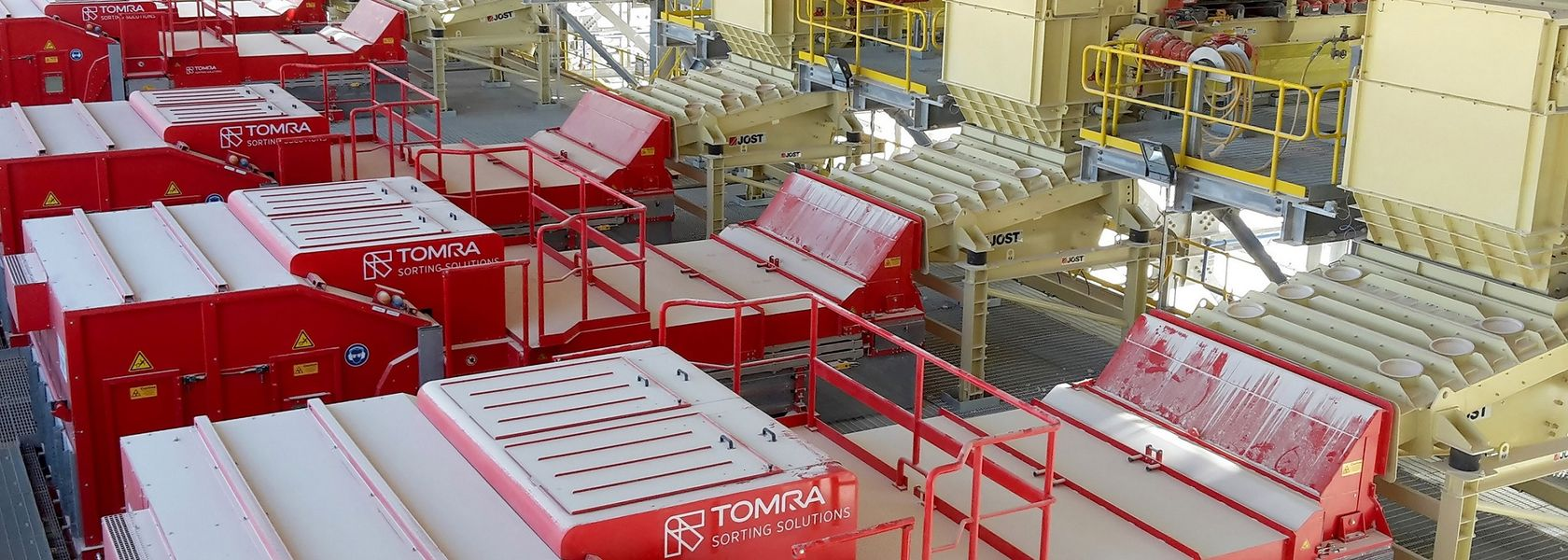 Large new Tomra X-ray sorter