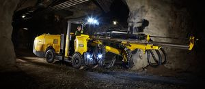 Epiroc's Boomer T1 is a single-boom face drilling rig