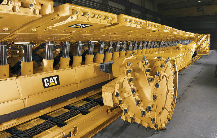 Cat longwall with automation for Peabody