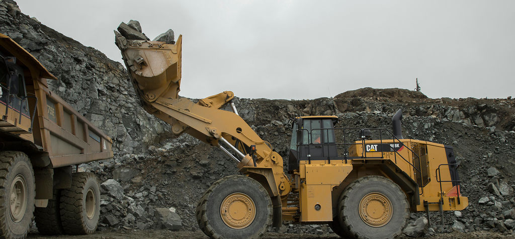 New Cat electric drive loader