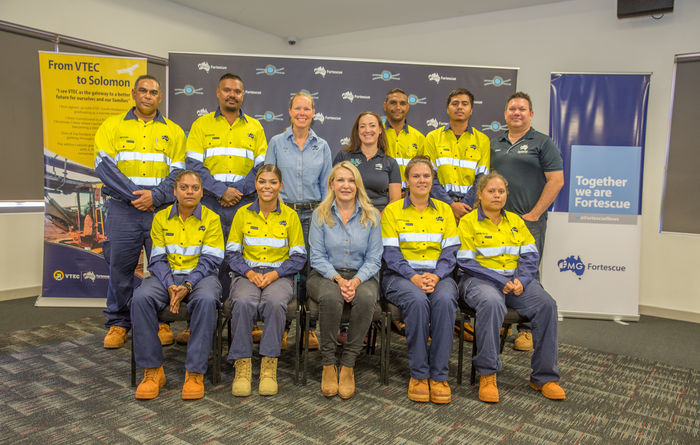 Fortescue employs more VTEC programme graduates
