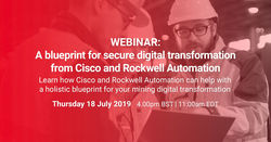 A blueprint for secure digital transformation from Cisco and Rockwell Automation