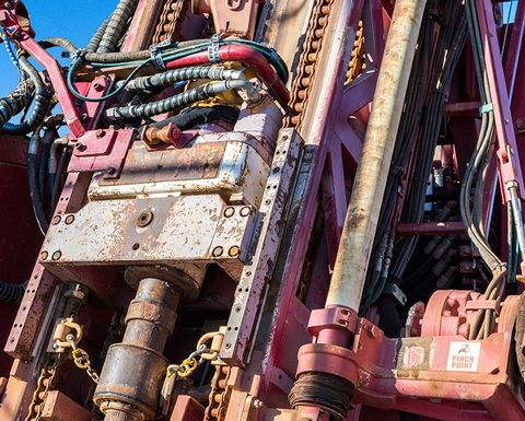 Drill rig company Schramm hits financial wall