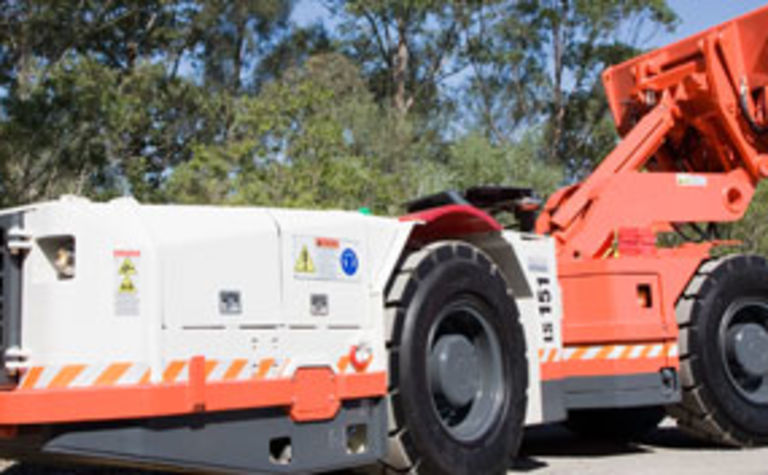 New Sandvik underground loader