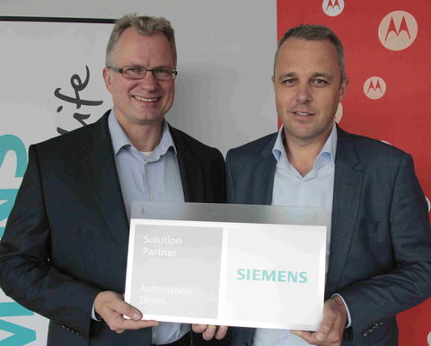 Motorola Solutions and Siemens technology partnership