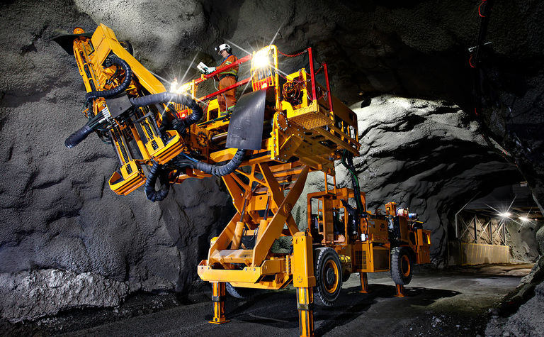 The road ahead: green, less-mean mining machines