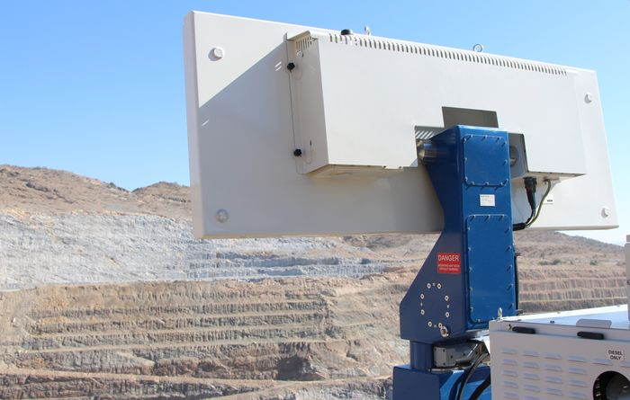 Reutech Mining speeds up slope scanning