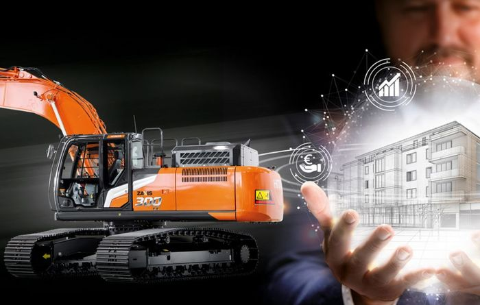 Hitachi uses hydraulics for fuel efficiency