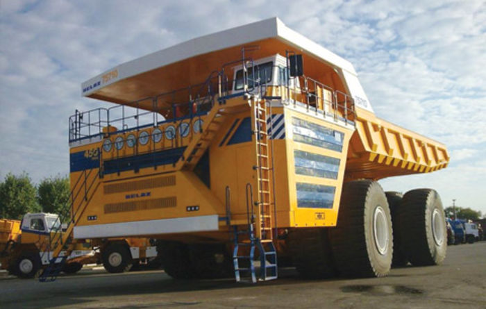 Belaz offers worlds largest dump truck