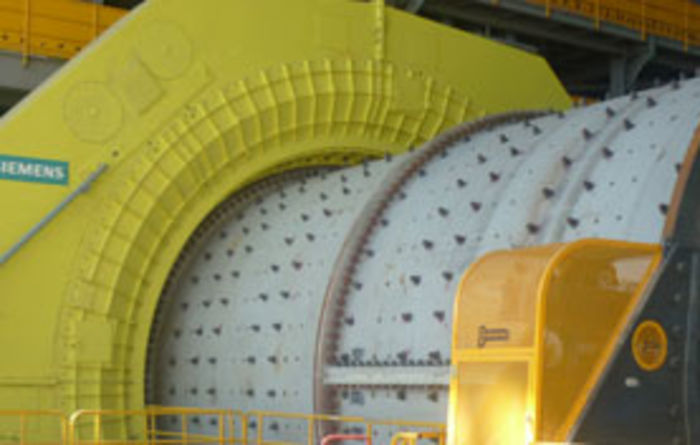 Siemens mill drives for Caserones mine
