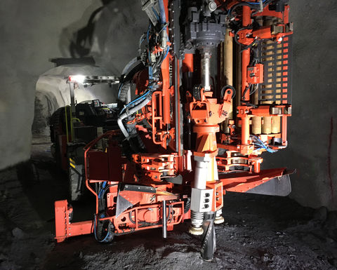Sandvik launches DU412i ITH longhole drill