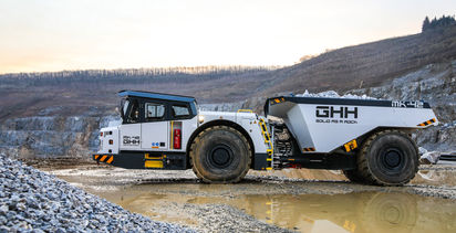GHH launches 'streamlined' 45t dump truck