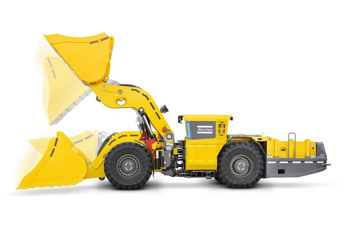 Atlas Copco's first battery-powered loader