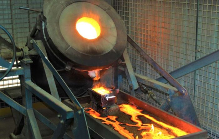 Comet Vale marks second gold pour
