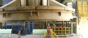 Los Bronces reduces downtime in primary crushing plant by 69% in 2016