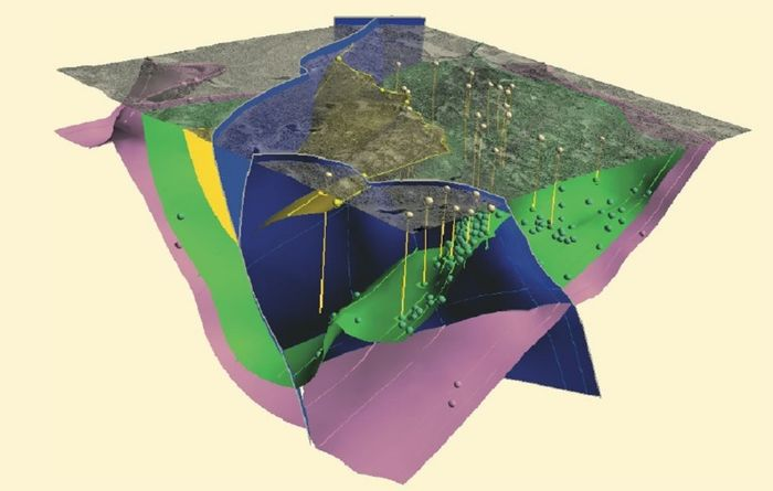 New directions in geology modelling and orebody evaluation