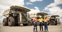 National Group delivers five trucks to Peak Downs