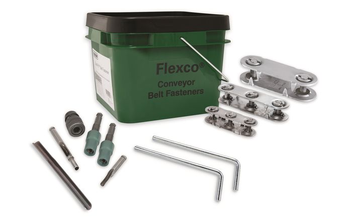 Flexco introduces conveyor belt rip repair kit